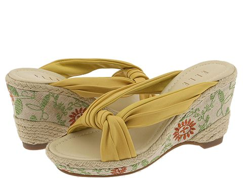 cute wedge sandals elle brocade