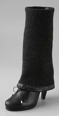 Wool Cuff Boot $380 Sale