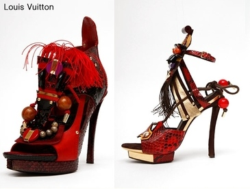 Louis Vuitton Spring 09 Collection is Exotic and Tribal