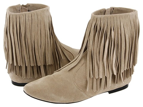 Fringe Ankle Boots - On SALE for only $116