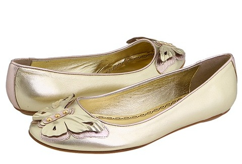 Juicy Couture Adore Butterfly Flats