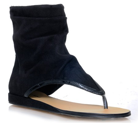 Thong Bootie (black) $44.90