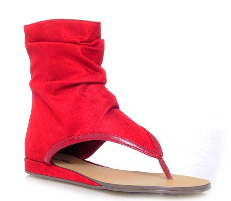 Thong Bootie (red) $44.90