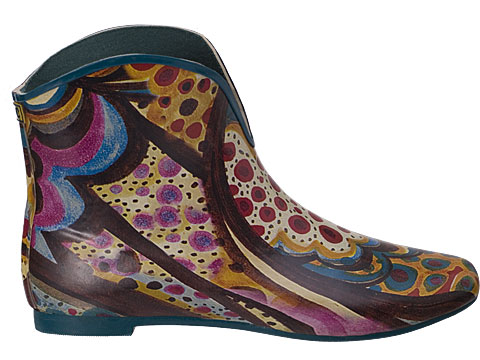 Vee Multi-Color Rain Boots - Jeffrey Campbell Shoes ...
