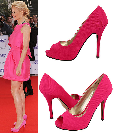 pink louboutins shoes