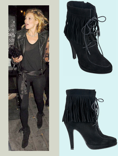 Jeffrey Campbell Man Shoe fringe suede ankle boots | Shoespotlight ...
