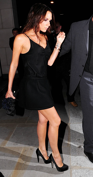 victoria beckham heels with no heel. There is no telling how many