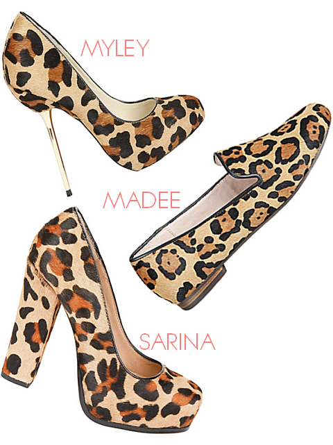 leopard print shoes