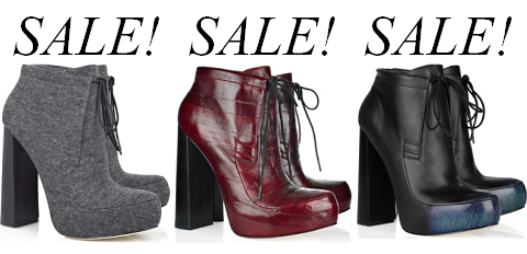 leather booties sale