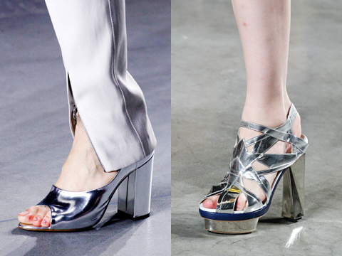 SS 2012 shoe trends