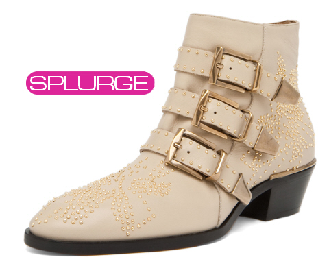 Chloe studded booties